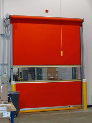 Rubber/High Speed Rolling Door overhead door Commercial Maintenance high speed door